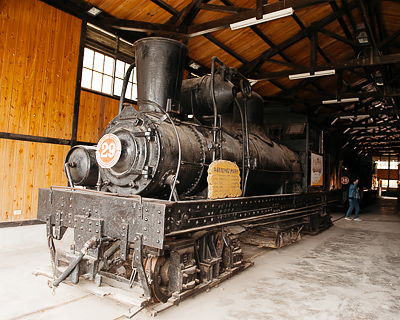 Alishan Forest Railway steam locomotive