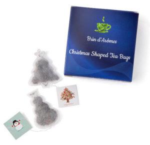 Christmas Shaped Tea Bags