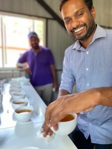 Buddika of Forest Hill Tea / Ellen Kanner photo