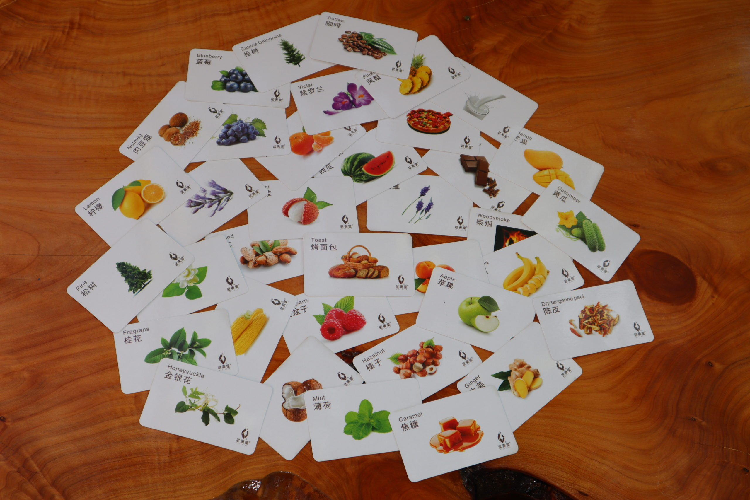 Scent cards