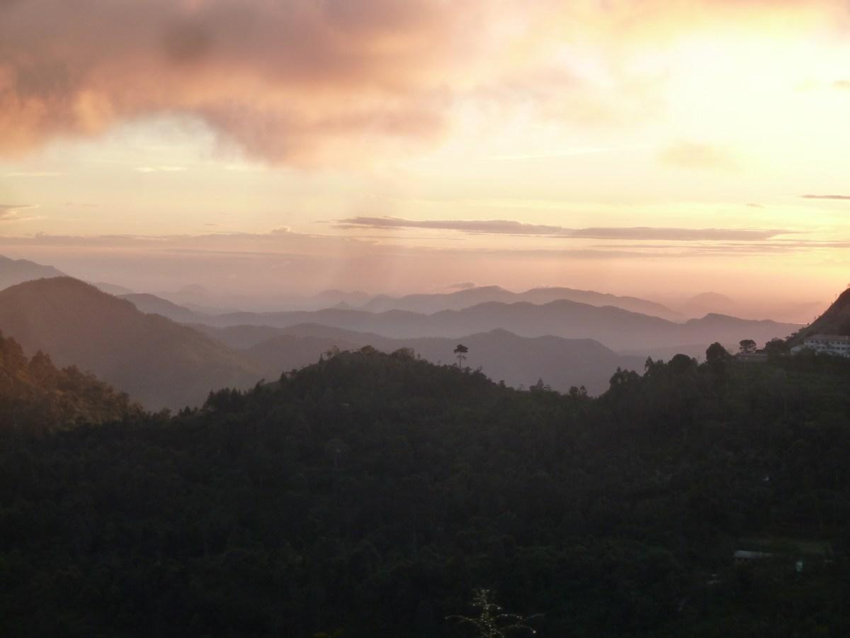 Dawn over Amba