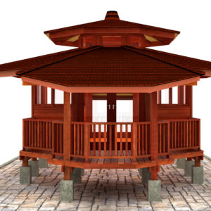 3D Walkthrough Of Our Bali Style Prefab Wooden Homes