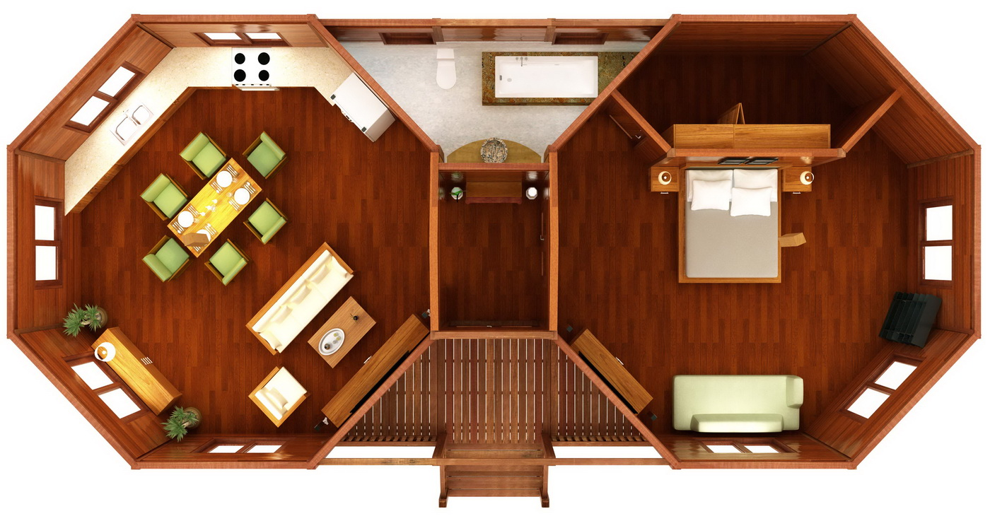 Hana Hale Design Octagonal Floor Plans