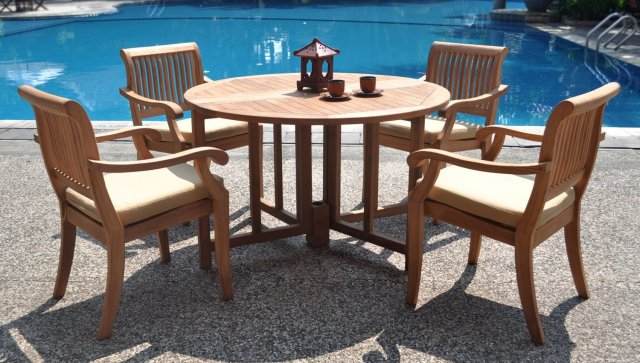 should you treat teak patio furniture with teak oil? - teak patio
