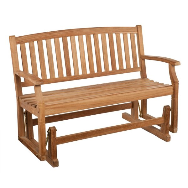 A Teak Garden Bench is the Best Around   Teak Patio Furniture World teak glider bench  teak glider