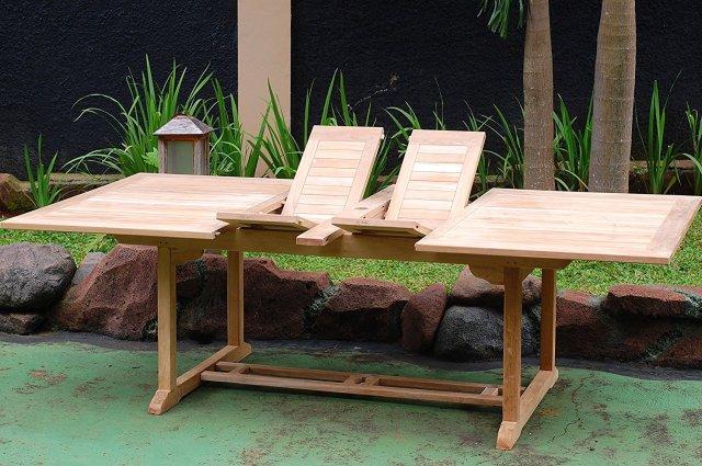windsor 15-piece teak dining set review - teak patio furniture world