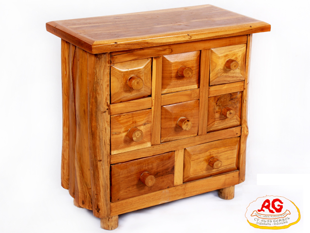 drawer side table