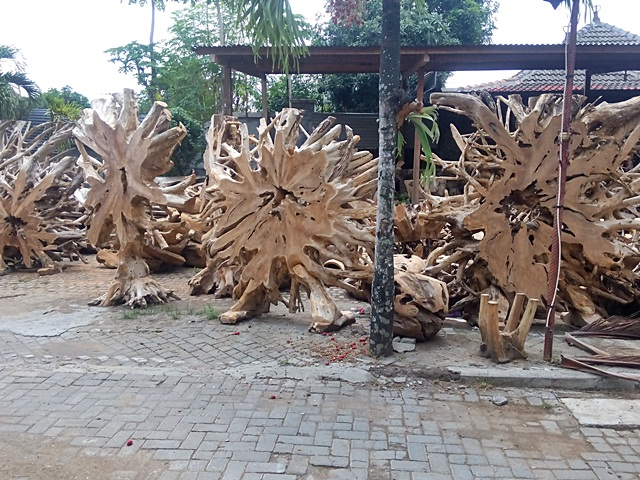 Teak Root Stand Accessories
