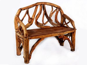 Teak Root Bench Natural