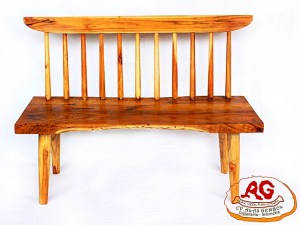 Teak Bench Slat Back
