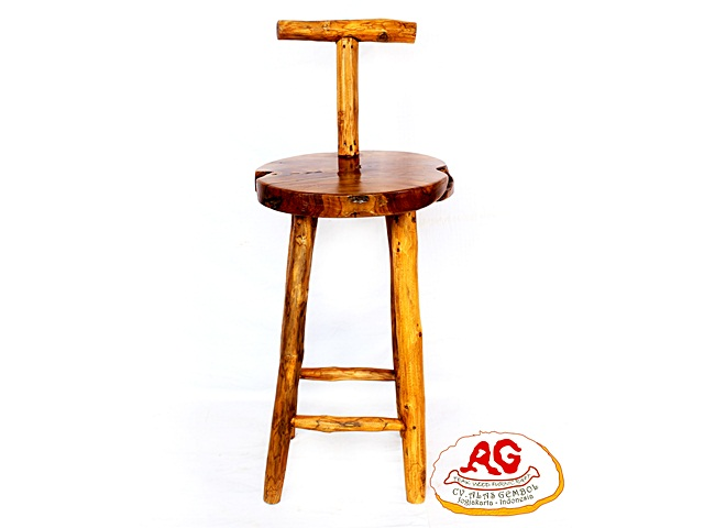 Round Bar Chair T Back
