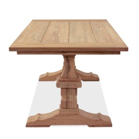 100% Reclaimed Teak Classic Dining Table