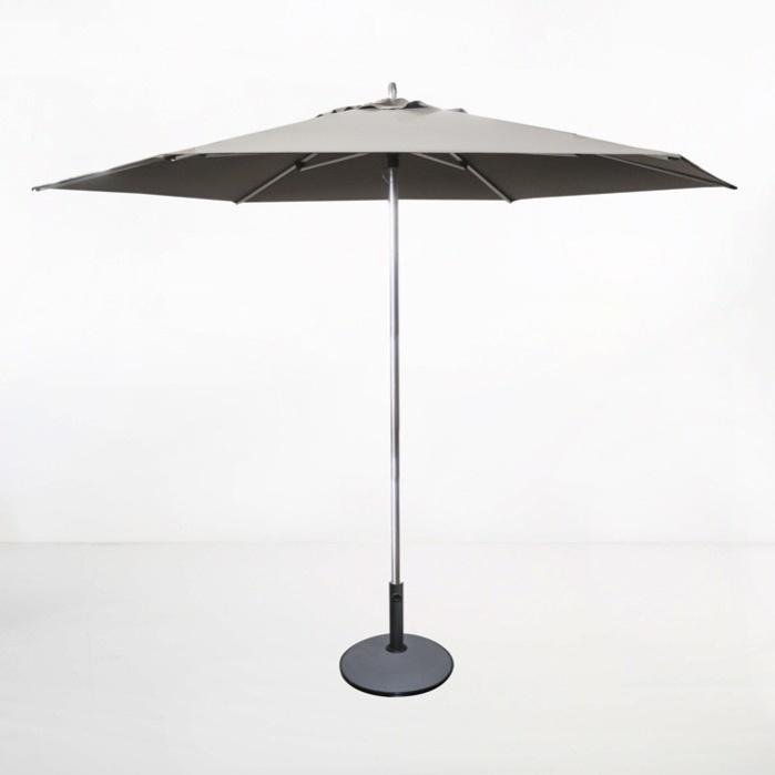tiki round patio umbrella grey