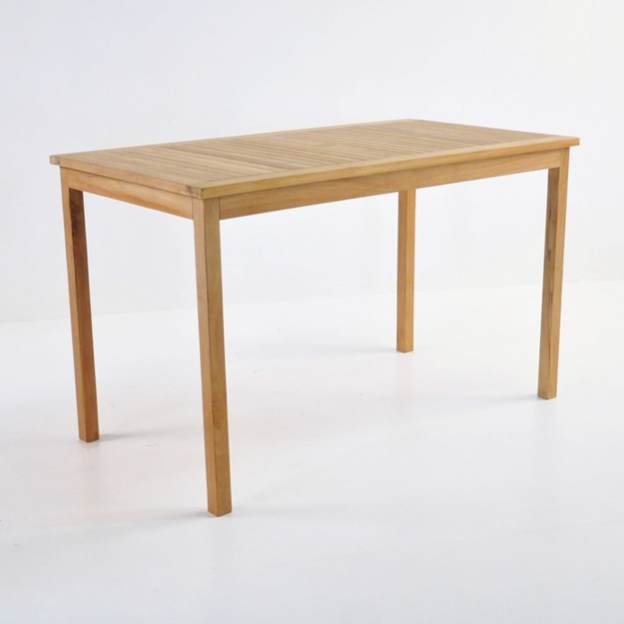 teak outdoor counter height table dining