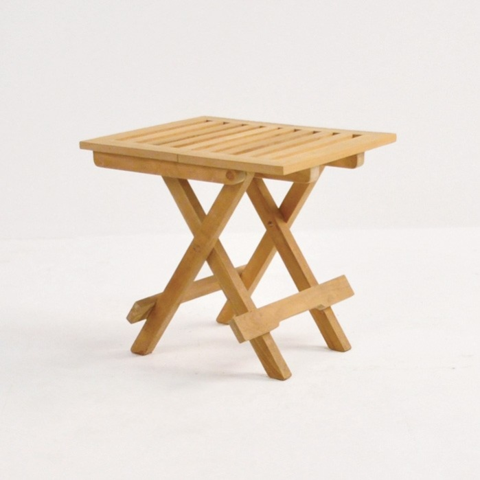 picnic small teak folding table