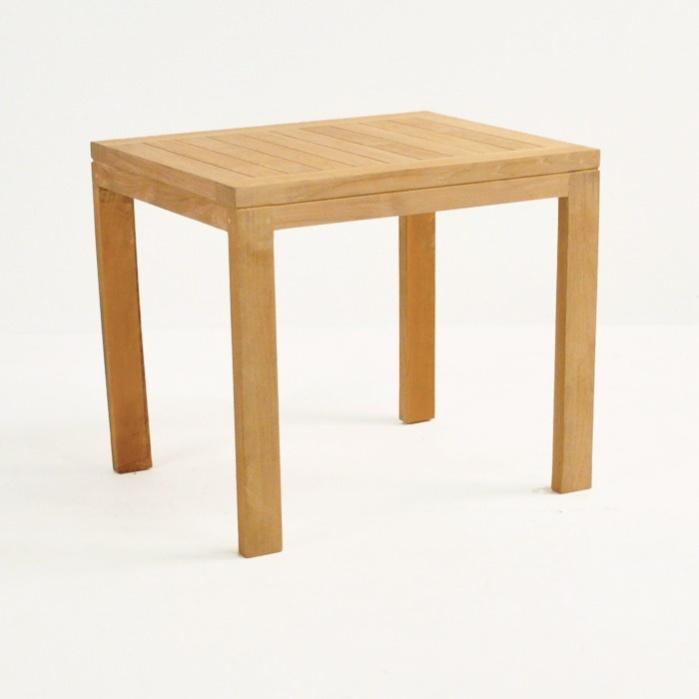 teak nesting tables large
