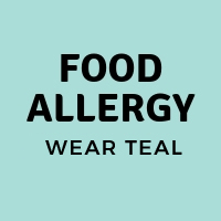 food allergy awareness wear teal