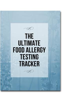 Ultimate Food Allergy Testing Tracker