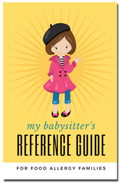 food allergy babysitters guide