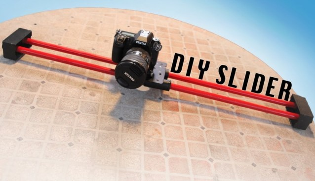 DIY Saturday #16 – Make Your Own Camera Slider