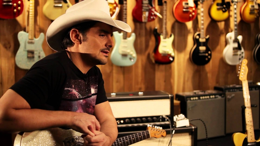 "Brad Paisley At: Guitar Center ""G-Bender"" Telecaster"