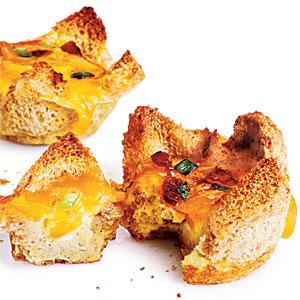 Cheap Recipe: Mini Bacon and Egg Tarts
