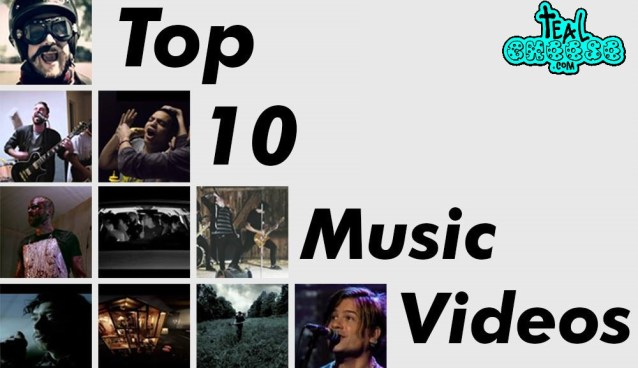 Brandon's Top 10 Music Videos