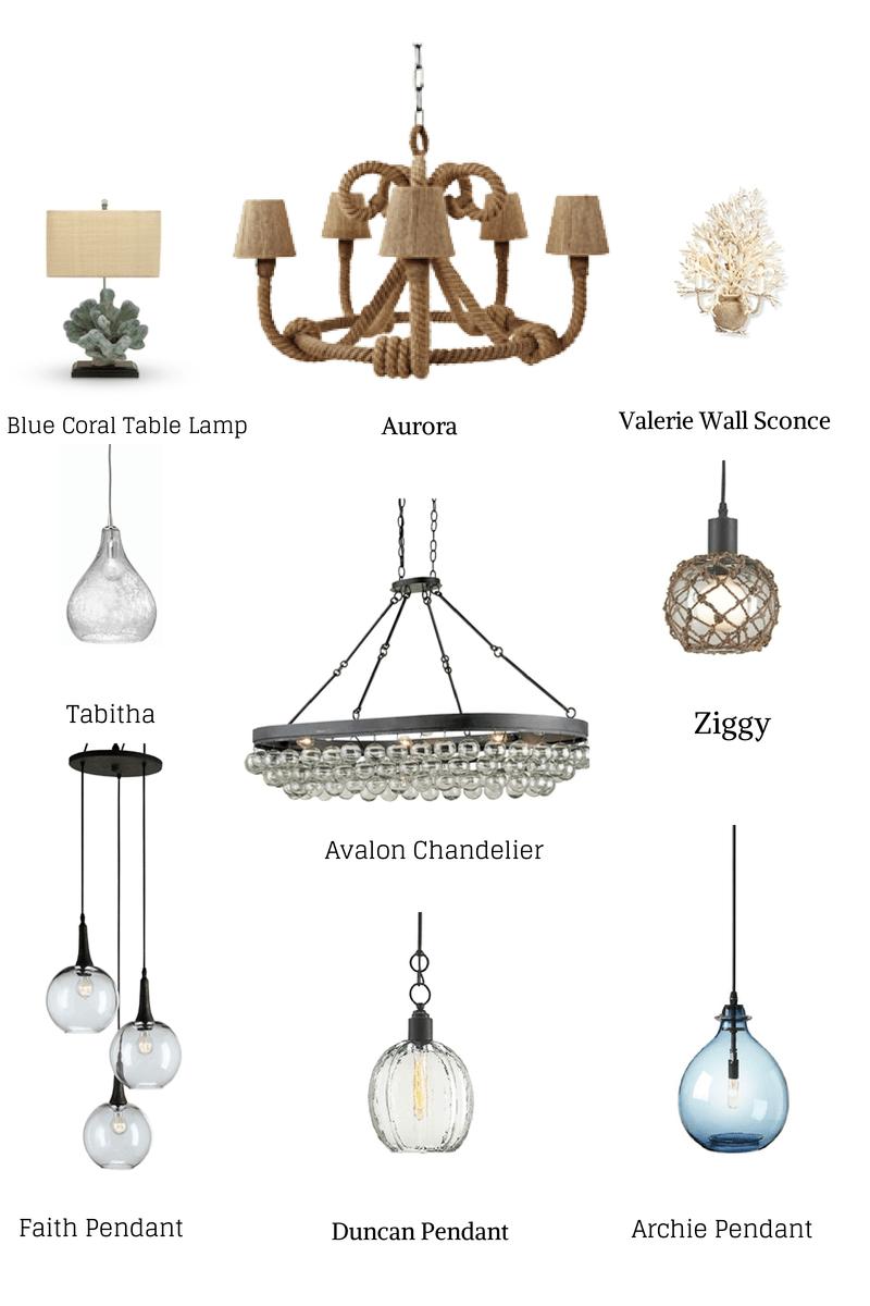 beach house pendants lighting ideas