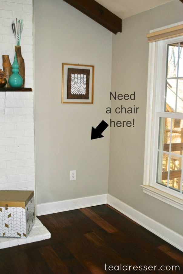 Need a chair!