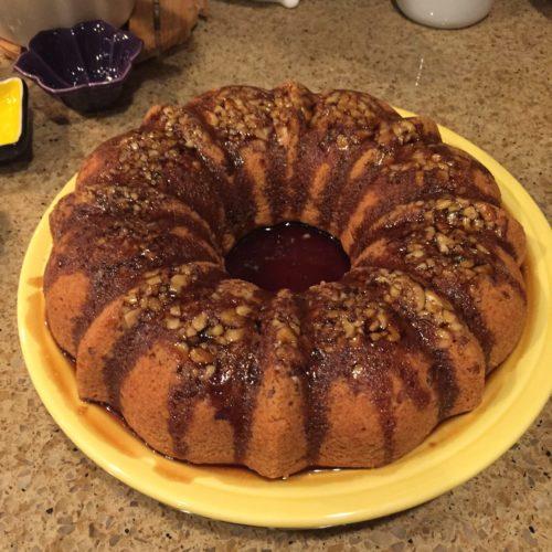 Healthy Rum Cake Recipe