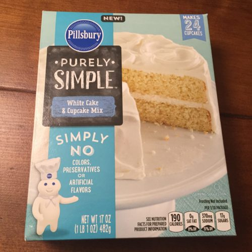 Pillsbury Purely Simple Cake Mix