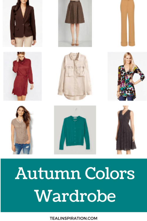 Autumn Colors Wardrobe