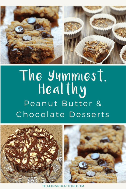Healthy Peanut Butter Chocolate Desserts