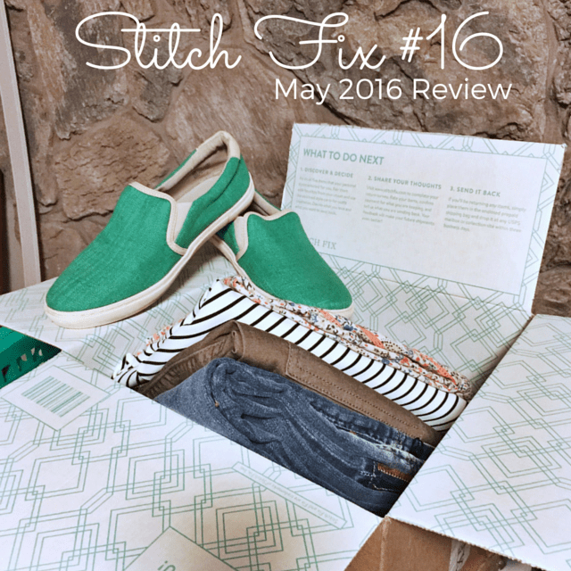 May Stitch Fix Review (#16) And Giveaway!