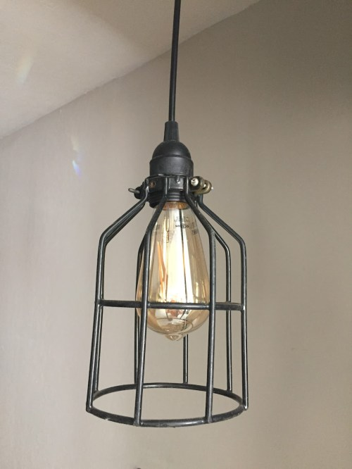 industrial wire light cages dipped in rubber