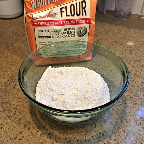 Vegan Apple Cinnamon Cake - Whole Wheat Pastry Flour www.tealinspiration.com