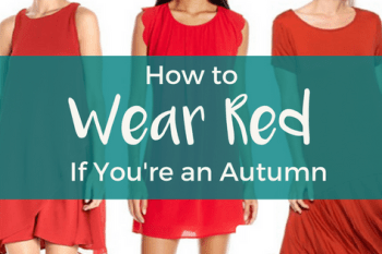 How to Wear Red if You're an Autumn