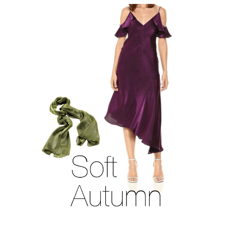 How to Wear Purple Soft Autumn