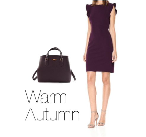 How to Wear Purple Warm Autumn