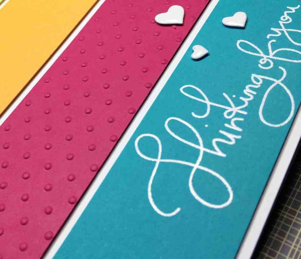 Using Scraps to Make Pretty Cards