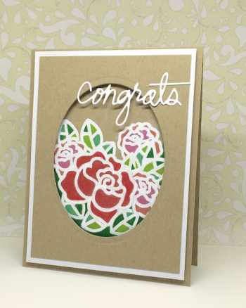White Heat Embossing on Kraft and ColorSoft Pencils