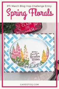Papertrey Ink March Blog Hop Challenge