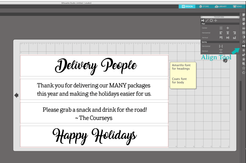 Making a Delivery Driver Snack Box for the Holidays