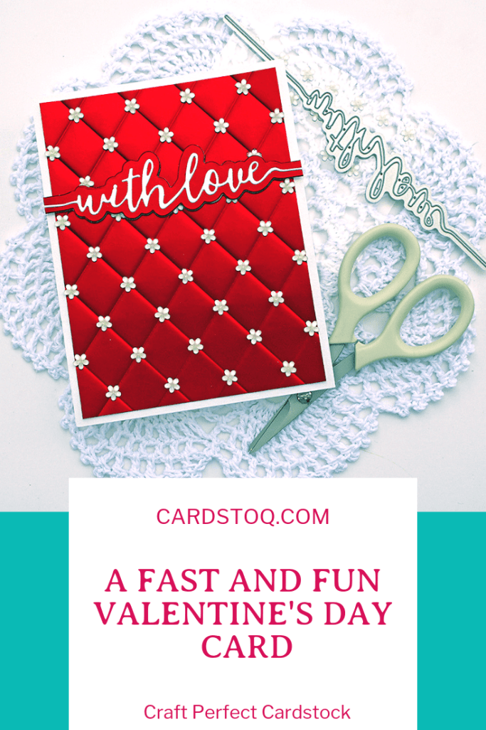 A Fast & Fun Valentine's Day Card