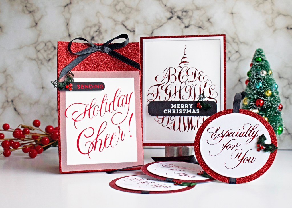 Holiday Trio: Spellbinders PA Scribe Holiday 2019 Collection