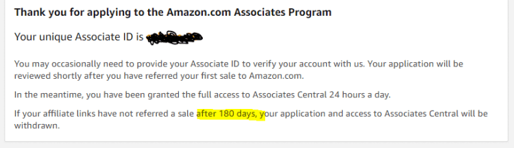 Amazon Associates snip
