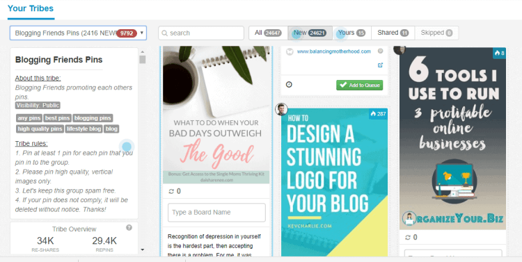 How to find your best Pinterest group boards with Tailwind