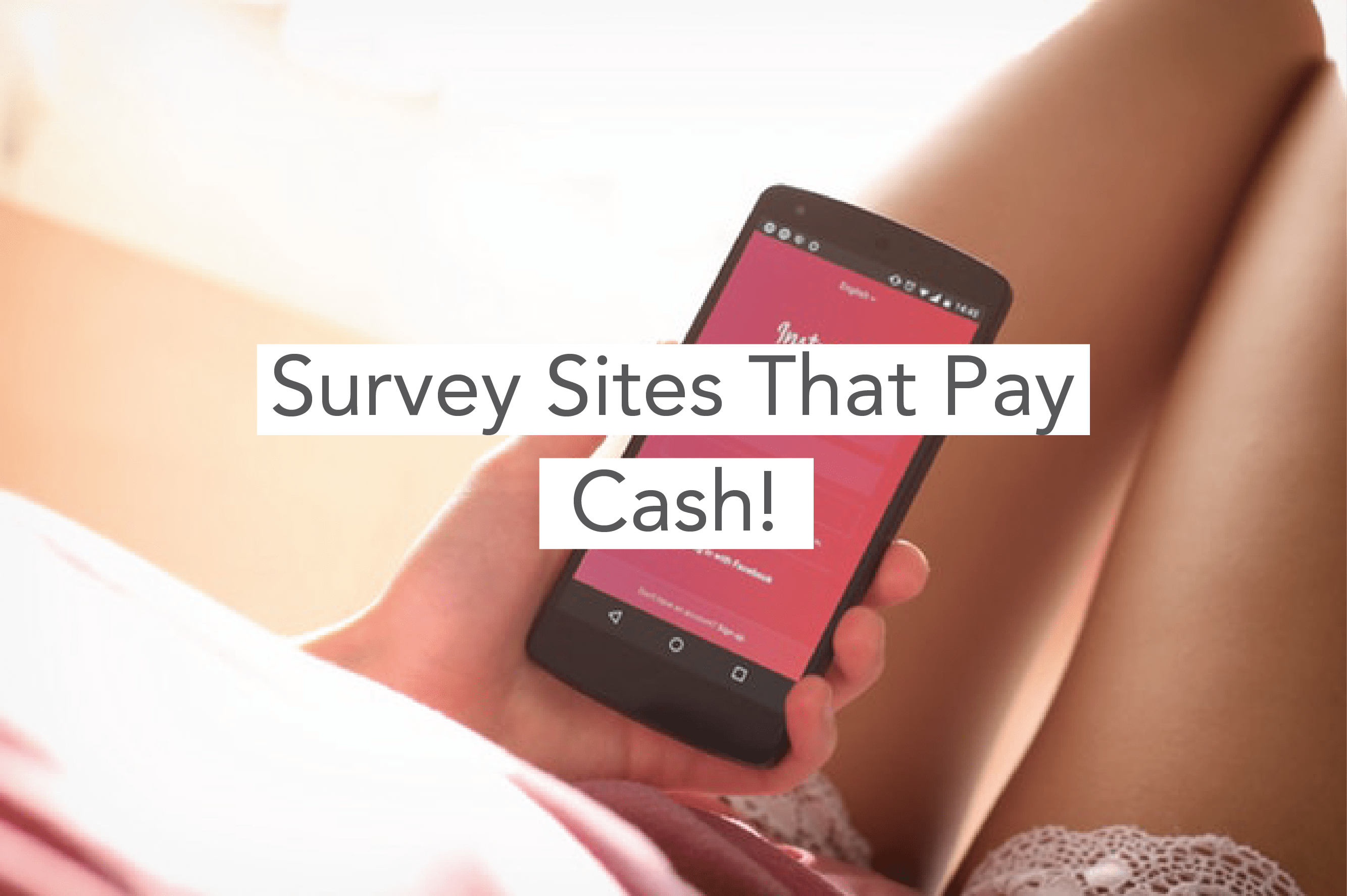 Make Extra Money: 6 Survey Sites To Add $200 A Month To Your Empty Wallet