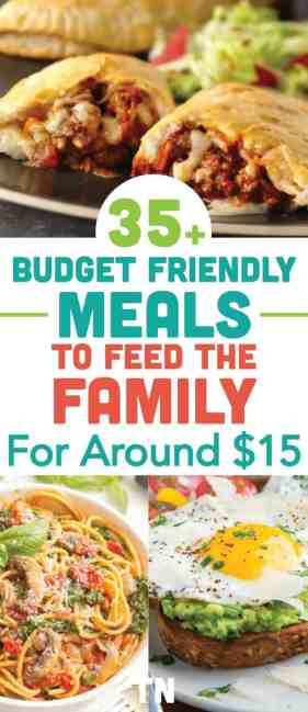cheap meals, cheap meal ideas, cheap dinner recipes, cheap easy meals on a budget,