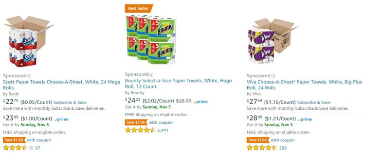 save money on groceries - Amazon buy in bulk